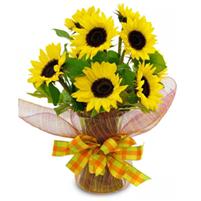 Buchet de floarea soarelui
