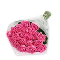 Buchet fresh din trandafiri roz