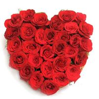 "Buchet ""Te iubesc"" in forma de inima"