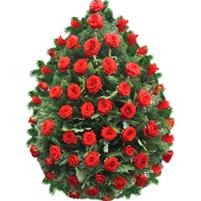 Coroana trandafiri rosii