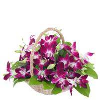 Cos exotic cu orhidee thailandeze